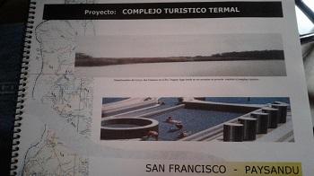 Proyecto turístico termal para Paysandú apuesta a una franja de poder adquisitivo alto y selectivo